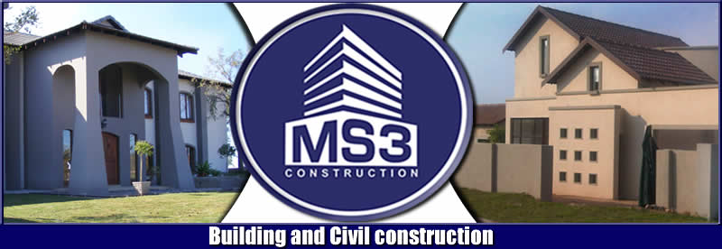 Services offered by MS3 Construction | Commercial building | Industrial building construction | residential building Construction